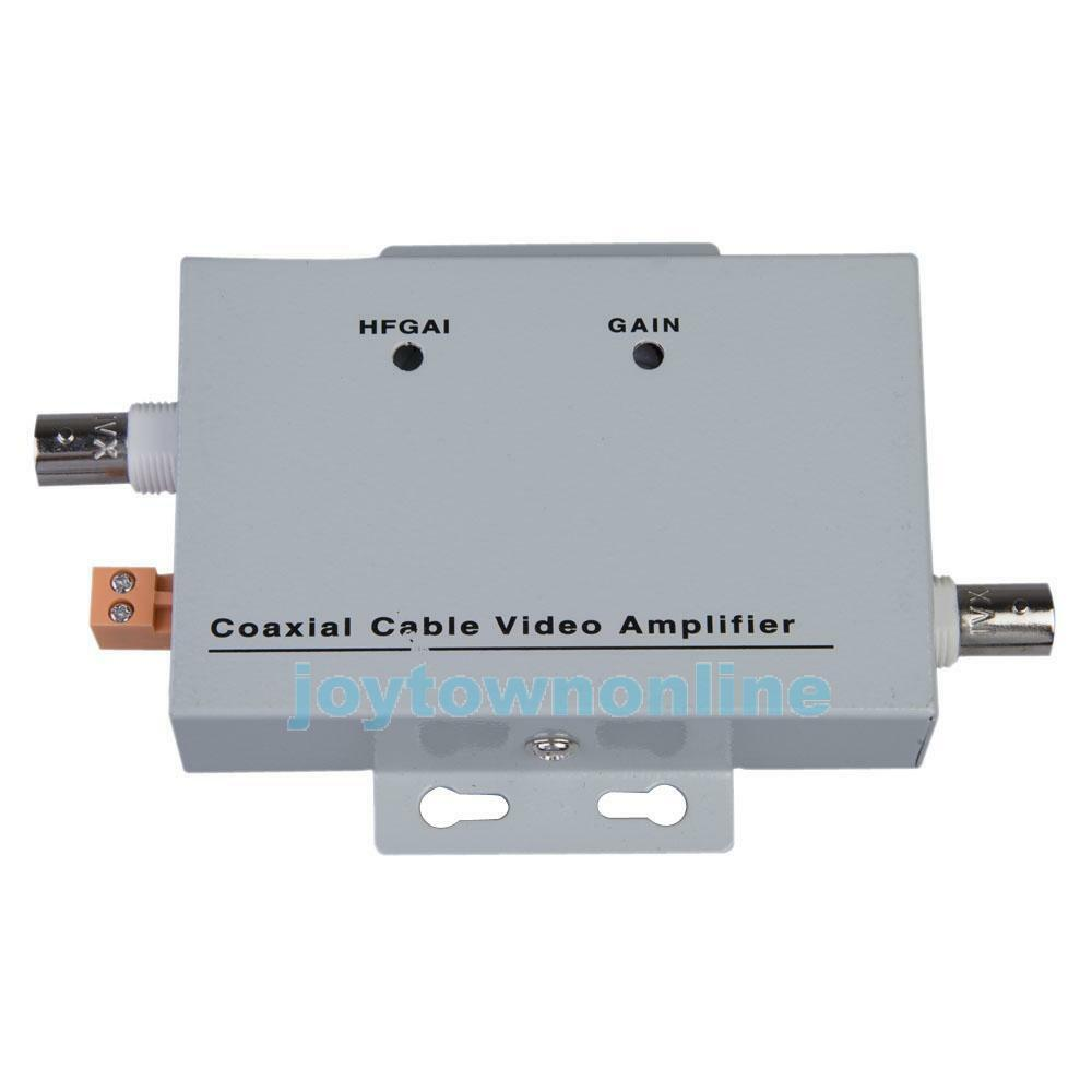 Coaxial Cable Bnc Video Signal Amplifier Booster Security