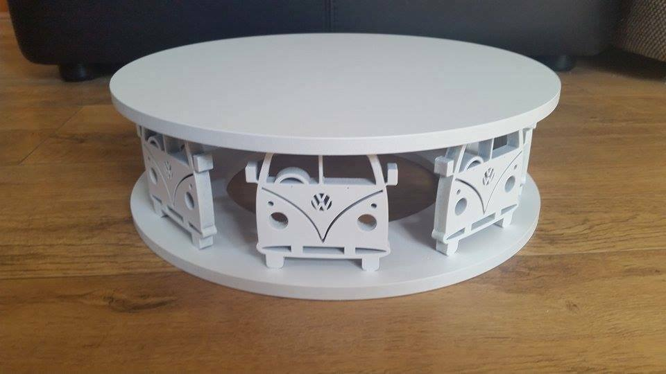 cake stand wooden vw campervan round square wedding ebay