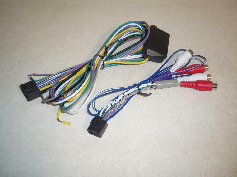 new oem wire and rca harnesses for alpine ktp-445u power ... alpine wiring harness