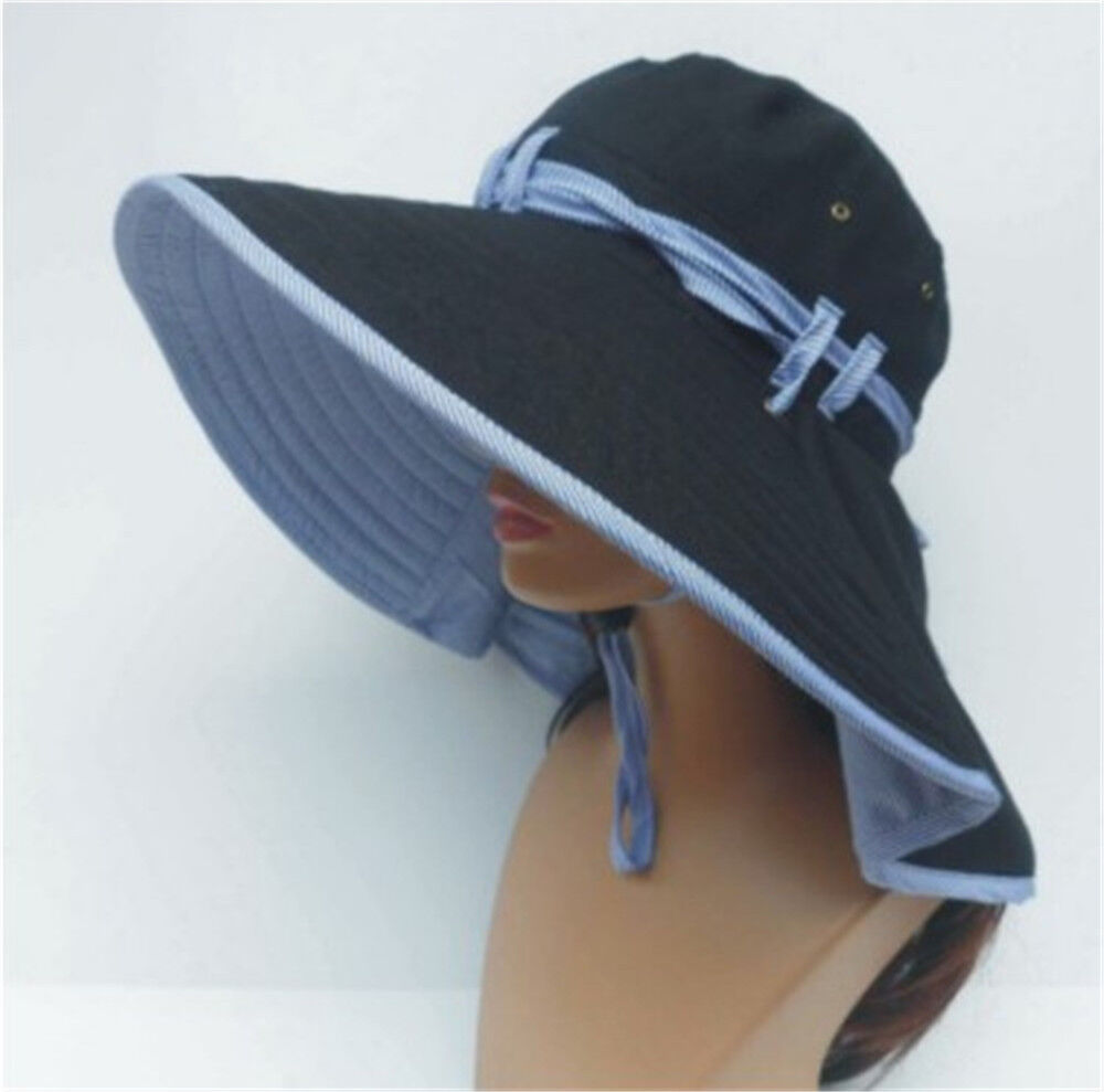 new wide brim folding sun hat outdoor hiking fishing