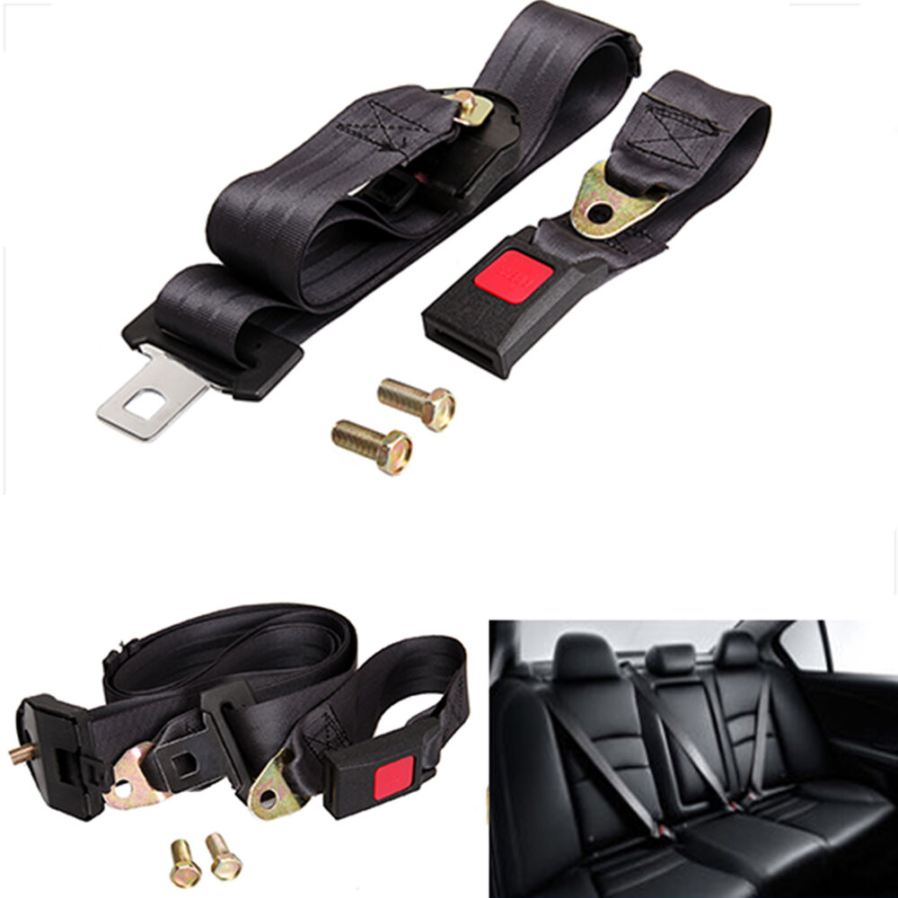 Three Point Belt : Universal point auto vehicle car seat belt lap