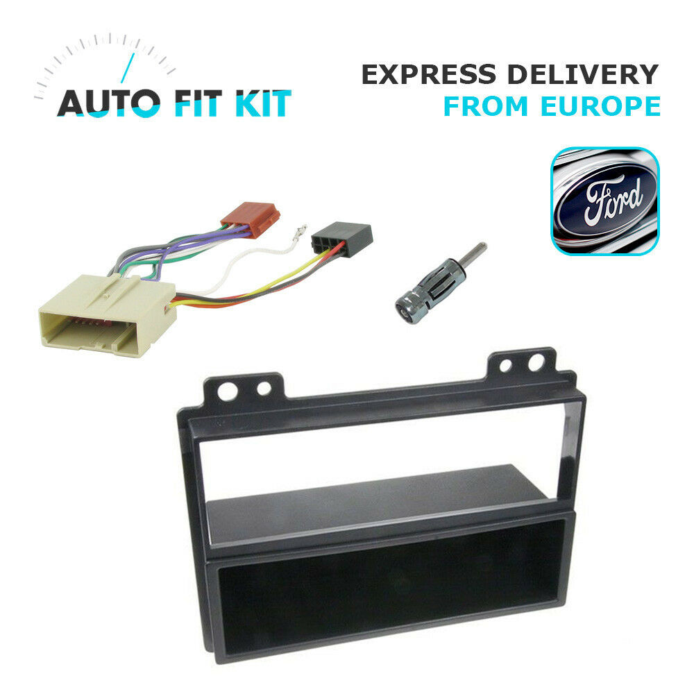 Ford Fiesta Fusion 1 Din Single Fascia Radio Stereo Replacement Vauxhall Opel Wiring Lead Harness Adapter Iso Car Kit Fakra 3182788017900 Ebay