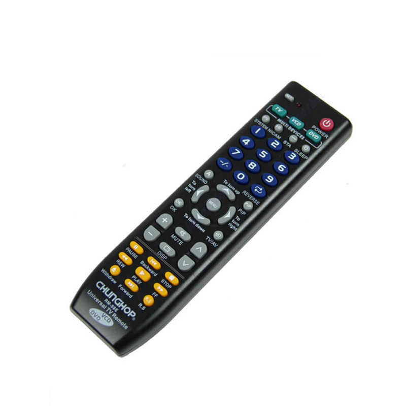 universal smart remote control controller for tv vcd dvd ebay. Black Bedroom Furniture Sets. Home Design Ideas