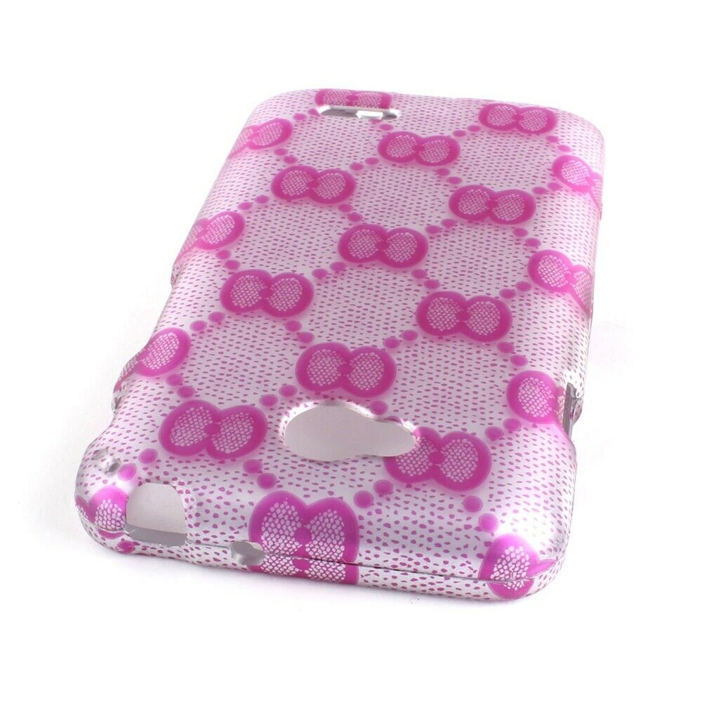 ... Cover Protector Case for LG Optimus L70 / Exceed 2 - Pink Bow : eBay
