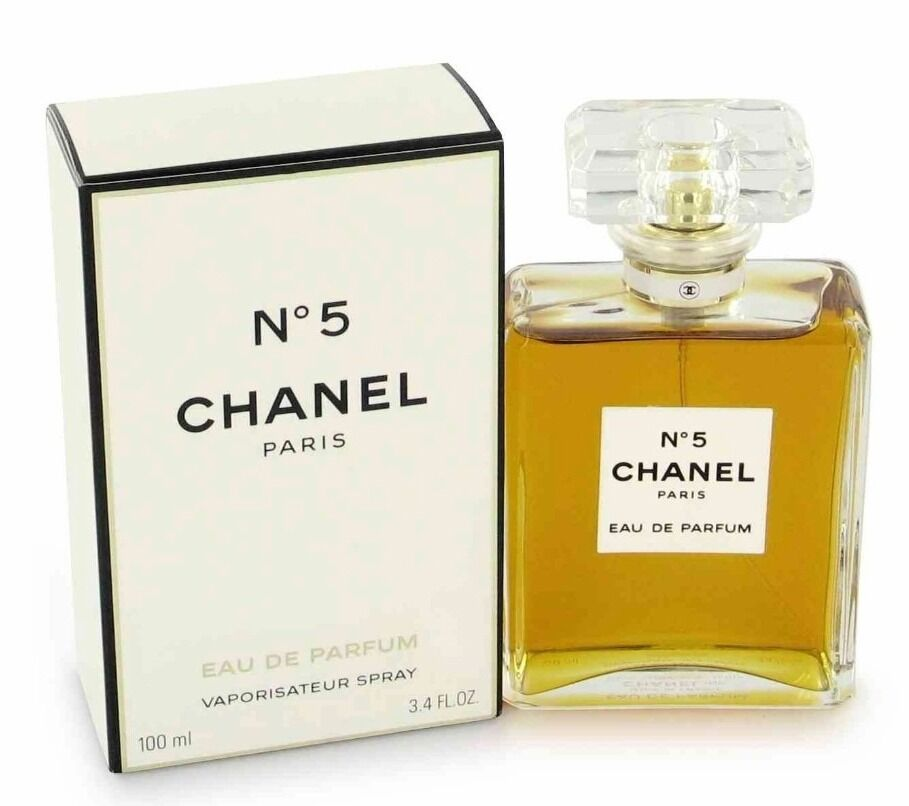 chanel no 5 paris eau de parfum edp 3 4 oz 100 ml new sealed 3145891255300 ebay. Black Bedroom Furniture Sets. Home Design Ideas