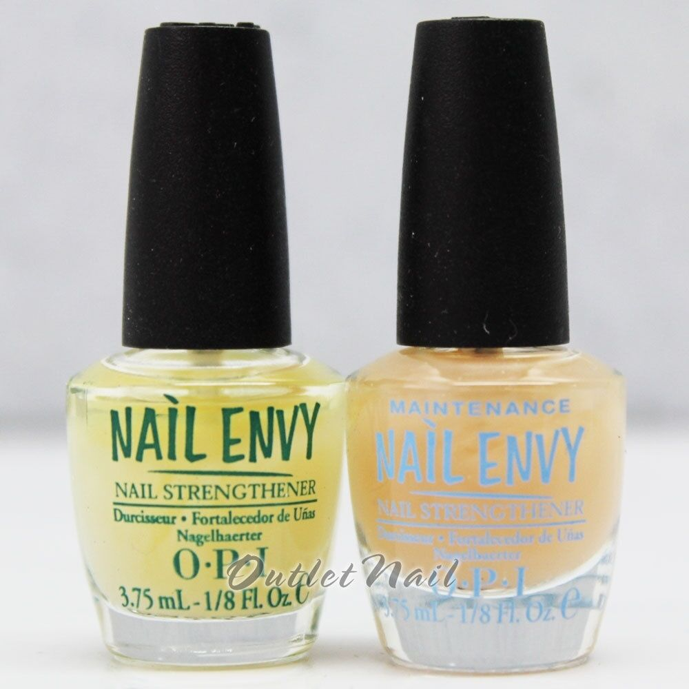 Nail Envy Vs Nail Tek: OPI Nail Envy Original + Maintenance Nail Strengthener 3