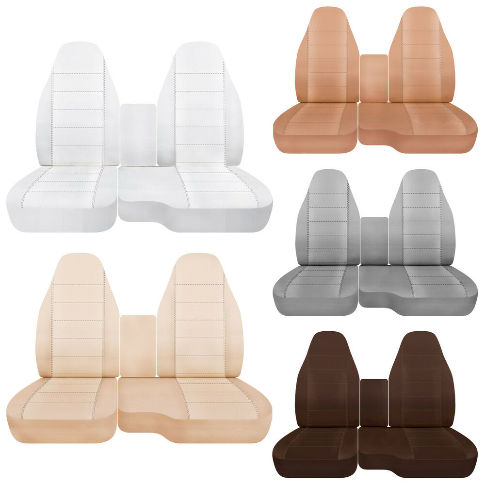 cc ford ranger cotton car seat covers 60 40 seat console cover choose ebay. Black Bedroom Furniture Sets. Home Design Ideas