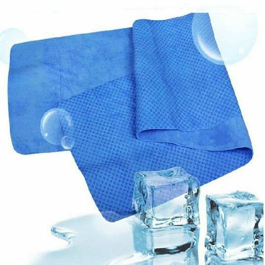 Sports Ice Towel: New Outdoor Sports Exercise Sweat Summer Ice Cold Cooling