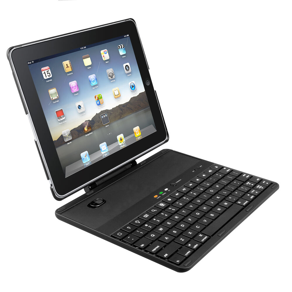for apple ipad 2 3 4 bluetooth wireless keyboard case cover detachable ebay. Black Bedroom Furniture Sets. Home Design Ideas
