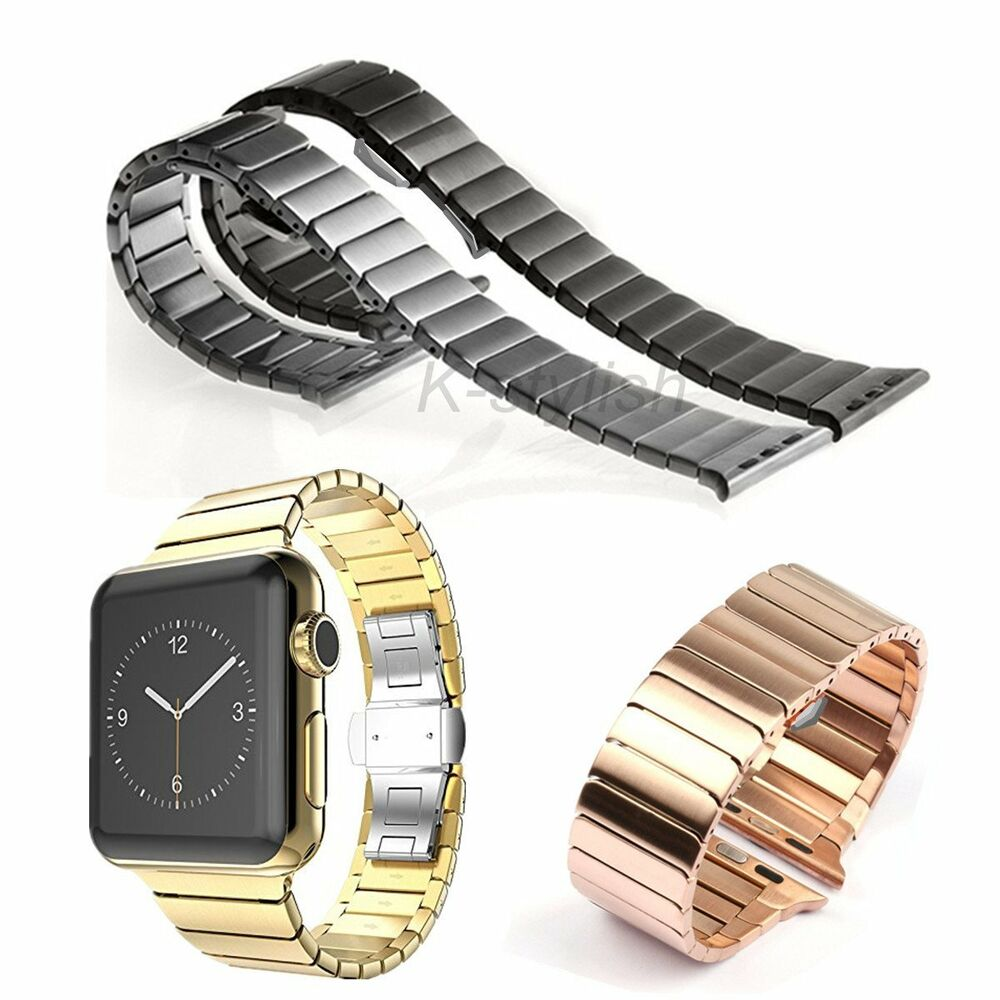 bracelet apple serie 3 link bracelet stainless steel band for apple 4081