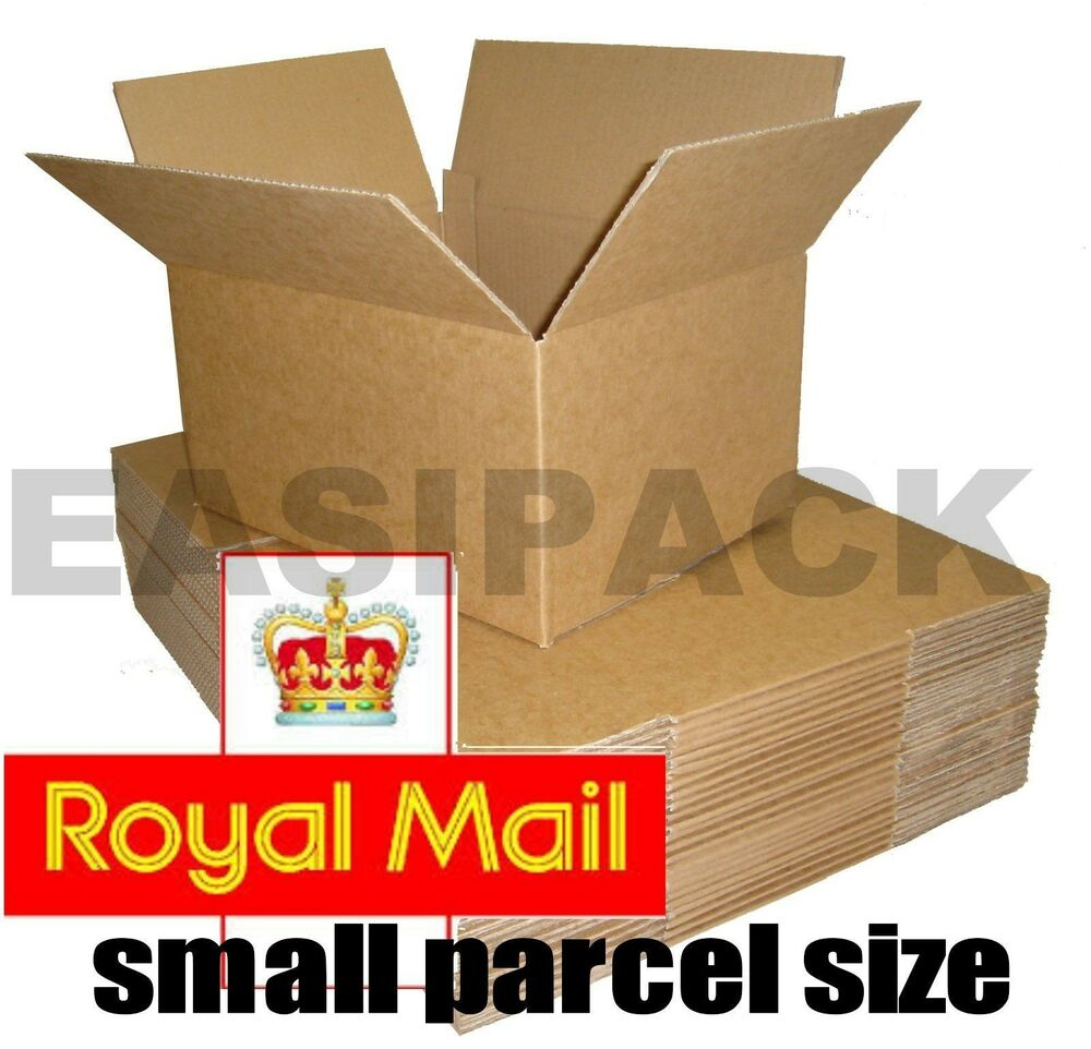 SELECTION OF ROYAL MAIL SMALL PARCEL SIZE POSTAL CARDBOARD