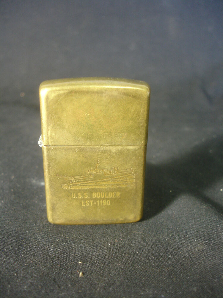 how to clean brass lighter