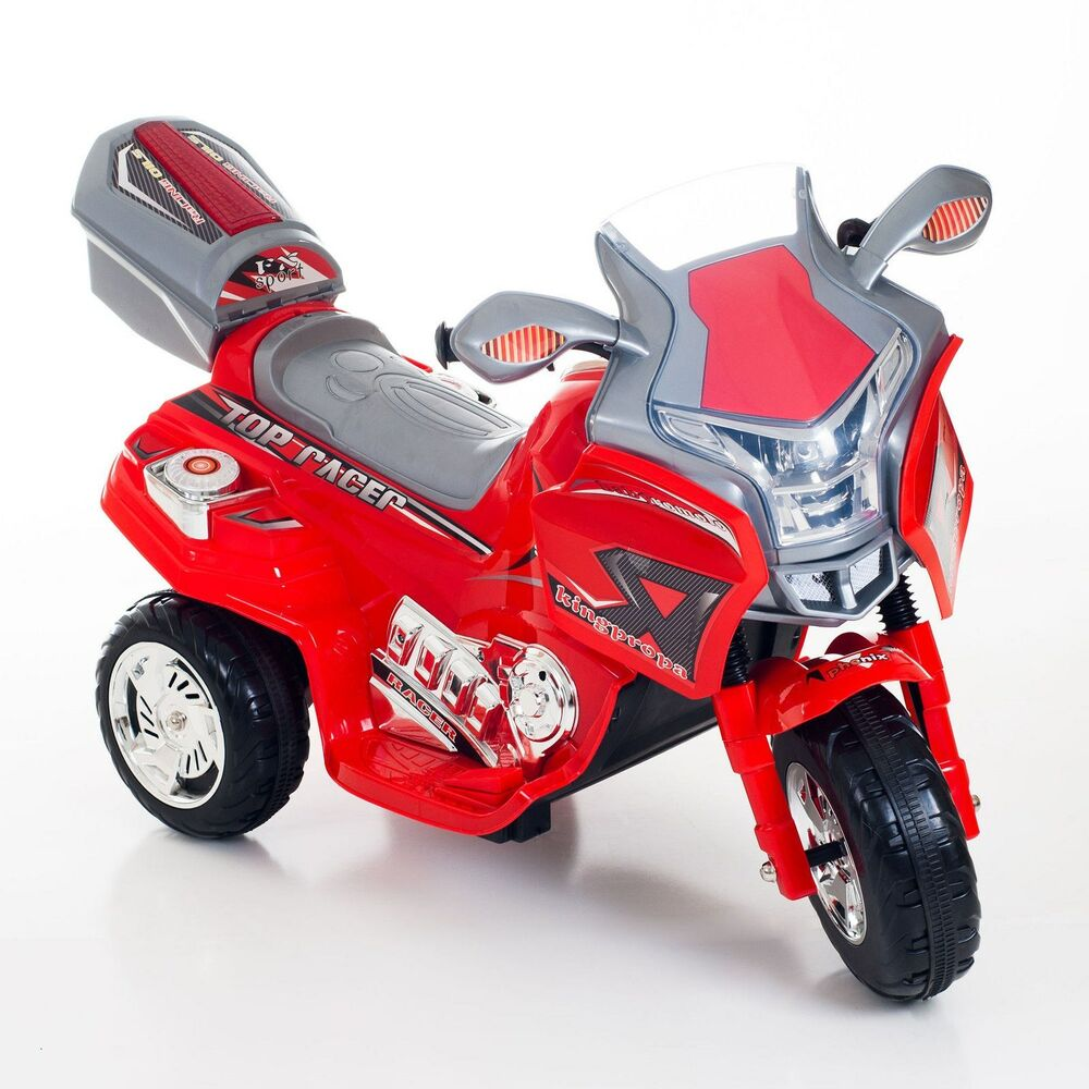 Lil rider top racer sport bike red motorcycle battery for Best motorized ride on toys