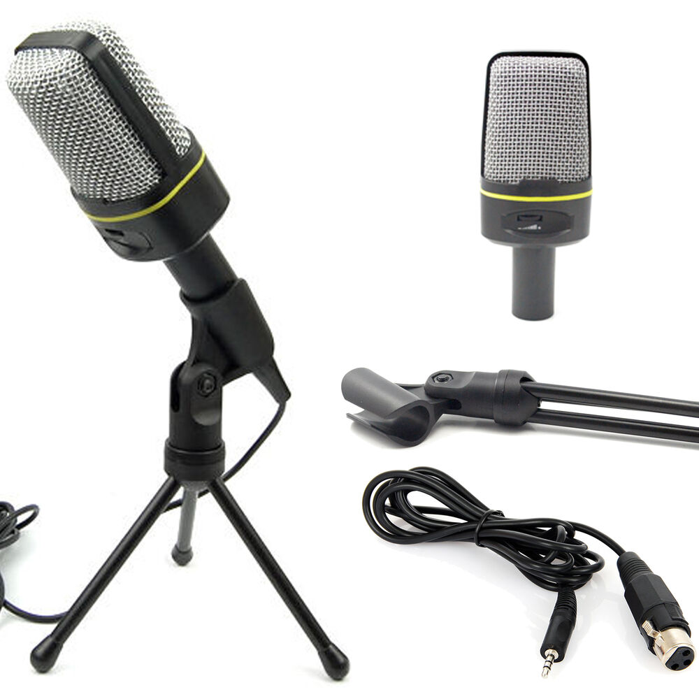 condenser sound professional usb studio microphone mic for pc laptop karaoke ebay