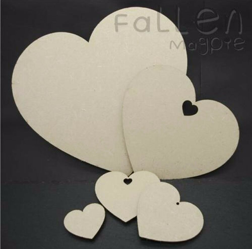 wooden hearts for crafts wooden shapes embellishments craft mdf wood 5772