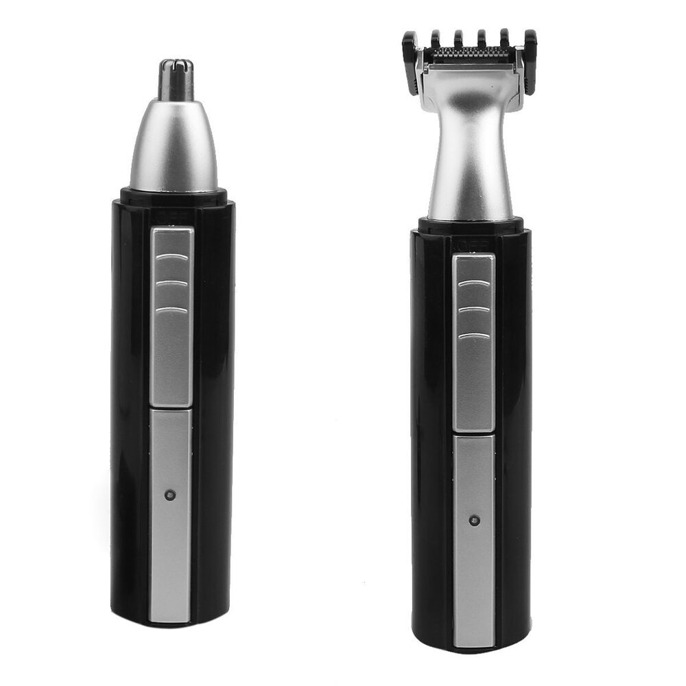 rechargeable nose ear face neck eyebrow hair trimmer beard shaver razor clipper ebay. Black Bedroom Furniture Sets. Home Design Ideas