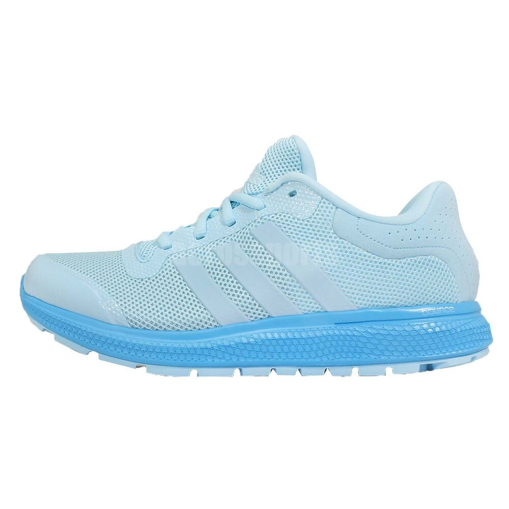 Adidas Light Blue Running Shoes