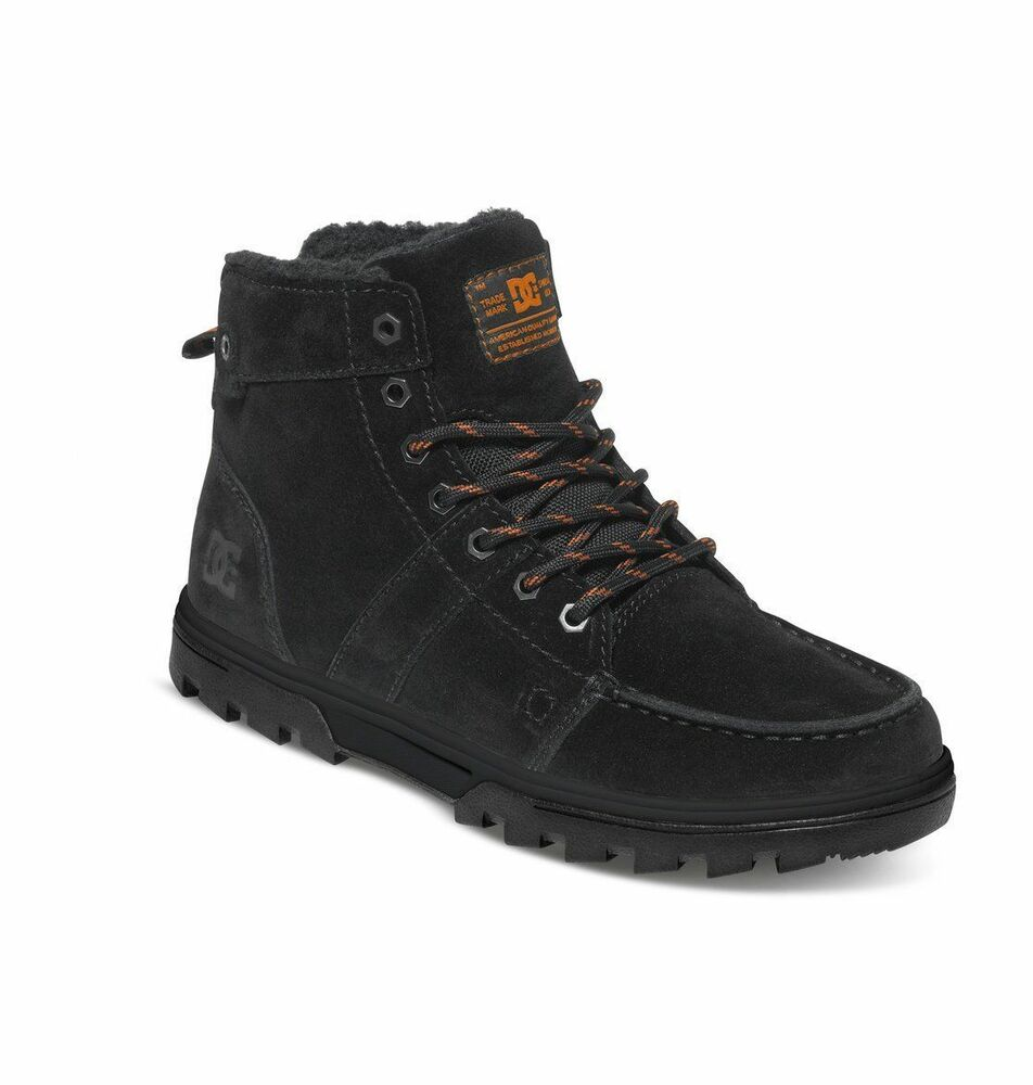 Mens DC Woodland Hiking Trail Boot Medium Width Black ...