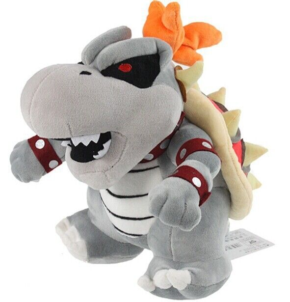 "New Mario Bros Series 10"" Dry Bowser Bones Koopa Plush Toy ..."