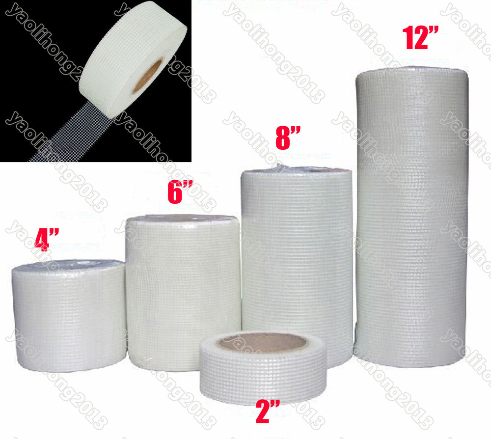 Mesh Sheetrock Tape : M fiber glass drywall joint mesh tape self adhesive quot