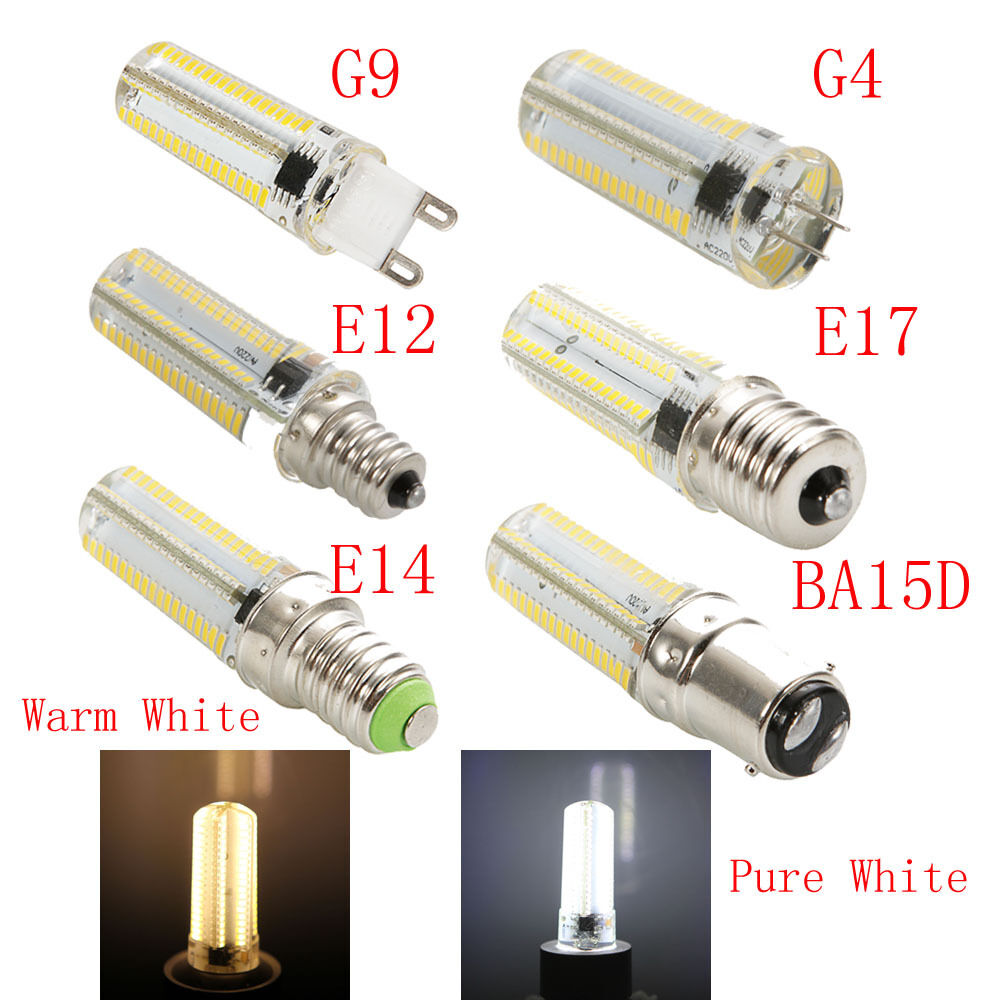 g9 g4 e12 e14 e17 ba15d 10w dimmable 152 3014smd led corn bulb light lamp 110v ebay. Black Bedroom Furniture Sets. Home Design Ideas