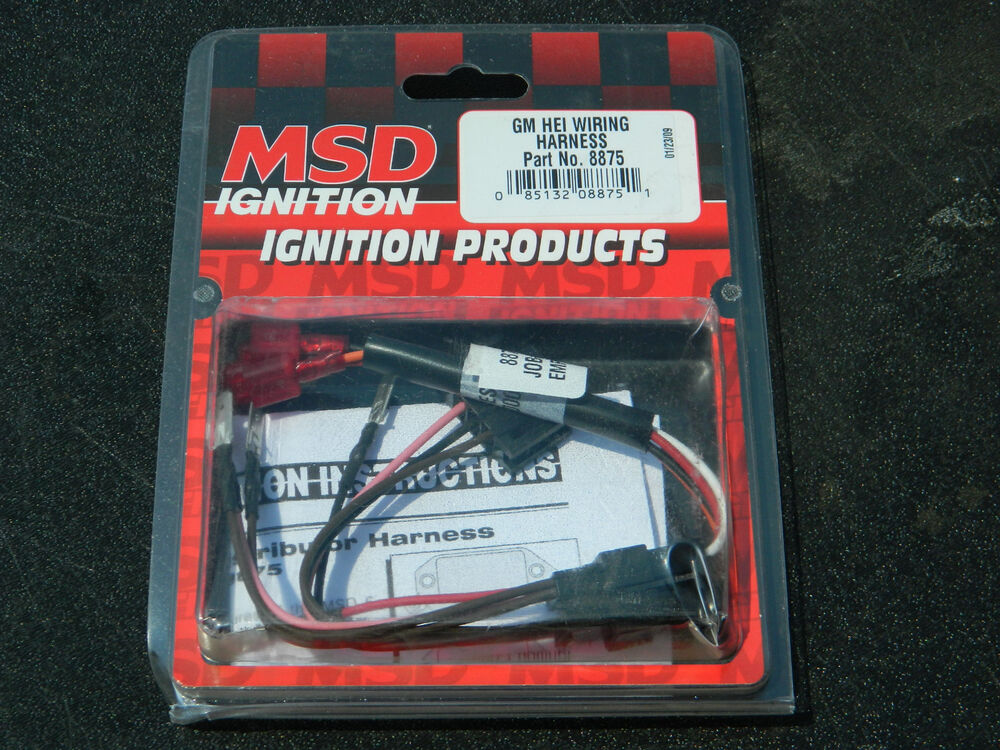 new msd ignition 8875 universal wiring harness magnetic. Black Bedroom Furniture Sets. Home Design Ideas