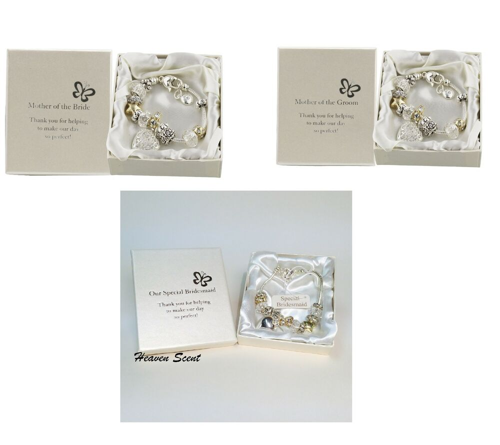 Wedding Gifts For Bride Ebay : Bracelet Wedding Thank You Gifts Idea For Bridesmaids Mother Bride ...