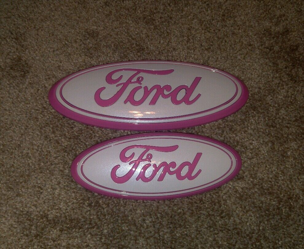 2011 2016 Ford Explorer Grill Amp Liftgate Pink Amp White