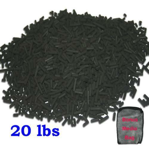 20 lbs bulk activated carbon for aquarium fish tank fish for Fish tank charcoal