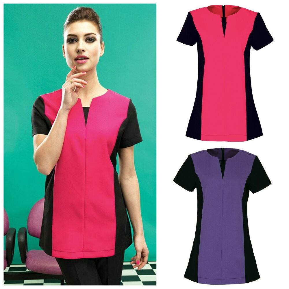 Spa beauty tunic salon beautician nail massage therapist for Uniform spa therapist