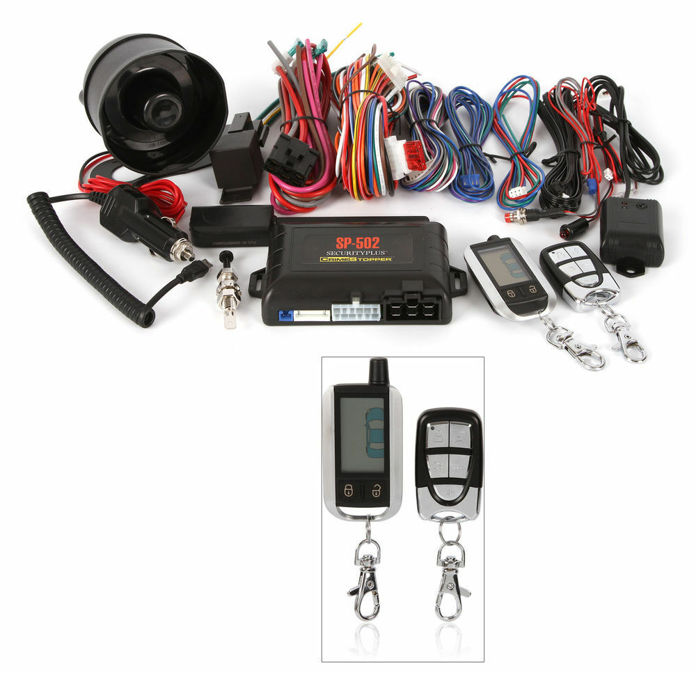 Crimestopper SP-502 2-way Remote Start Keyless Entry Car