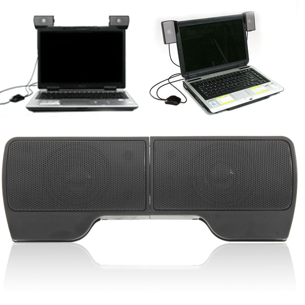 mini portable computer usb speaker stereo for mp3 phone music player laptops pc ebay. Black Bedroom Furniture Sets. Home Design Ideas