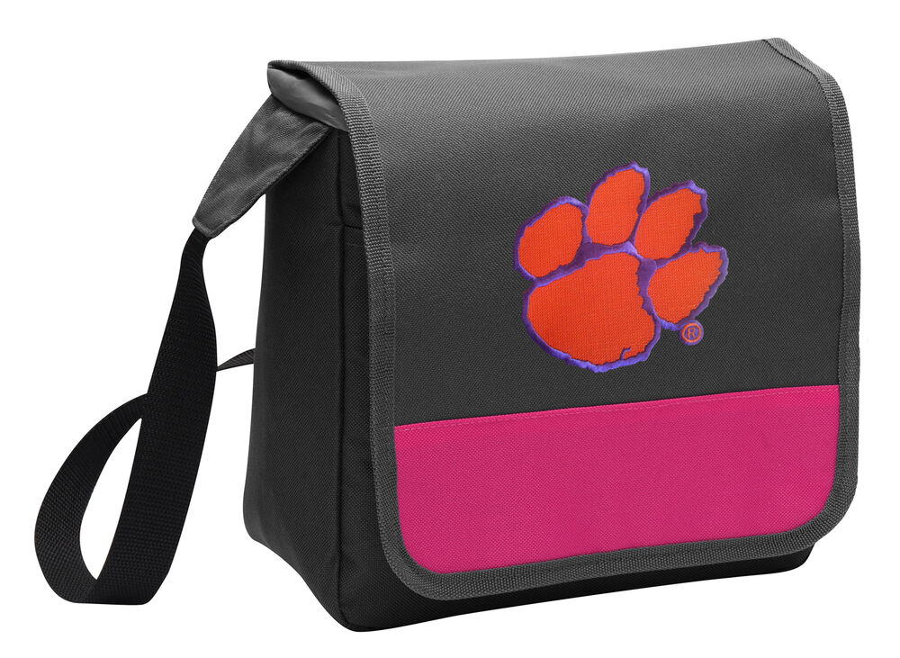 Clemson Lunch Bag Girls Cooler Ladies Tigers Lunchbox Bags ...