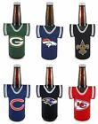 NFL Football Beer Bottle Jersey Cooler - Neoprene Cooler - Pick your team!