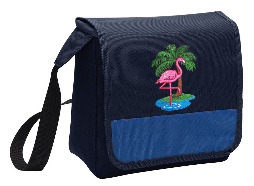 FLAMINGO Lunch Tote Bag Cooler Pink Flamingo Lunchbox Bags ...