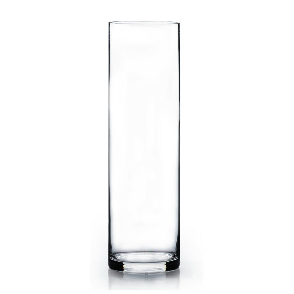 Wholesale Clear Cylinder Glass Vase 3 Quot Wide X 12 Quot Tall