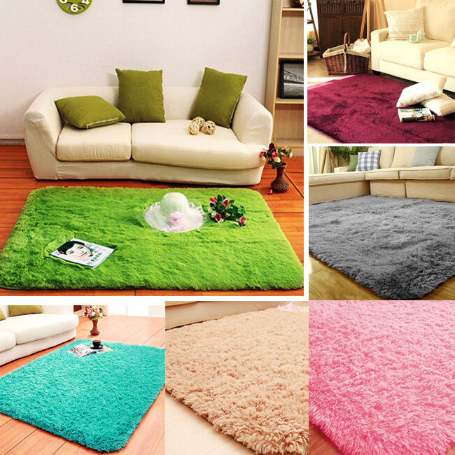 Hairy Home Seat Cushion Sofa Cover Plush Rug Nonslip Mat