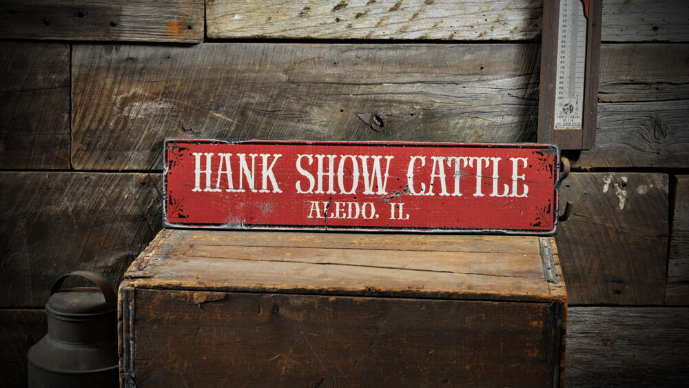 Custom Cattle Ranch City State Sign -Rustic Hand Made ...