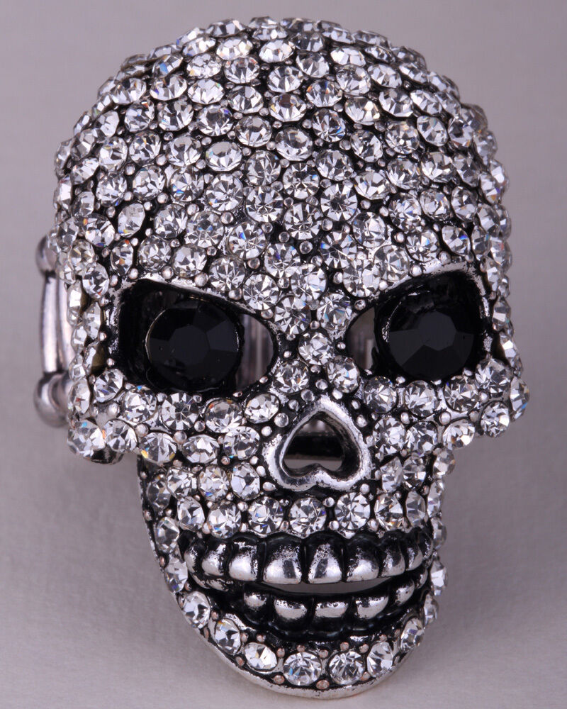 skull stretch ring gifts for