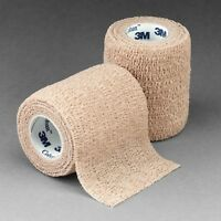 "3M Coban 3"" x 5 yd. Roll Elastic Self-Adherent First Aid Wrap"