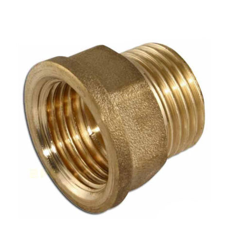 Inch male female brass metal bsp adapter threaded