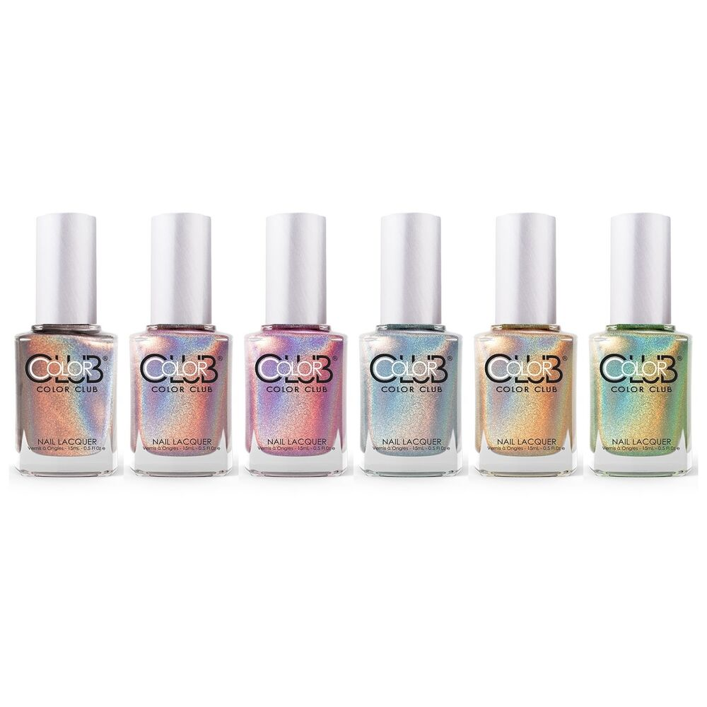 Who Sells Color Club Nail Polish: Color Club Halo Hues 2012 Holographic Nail Polish Lacquer