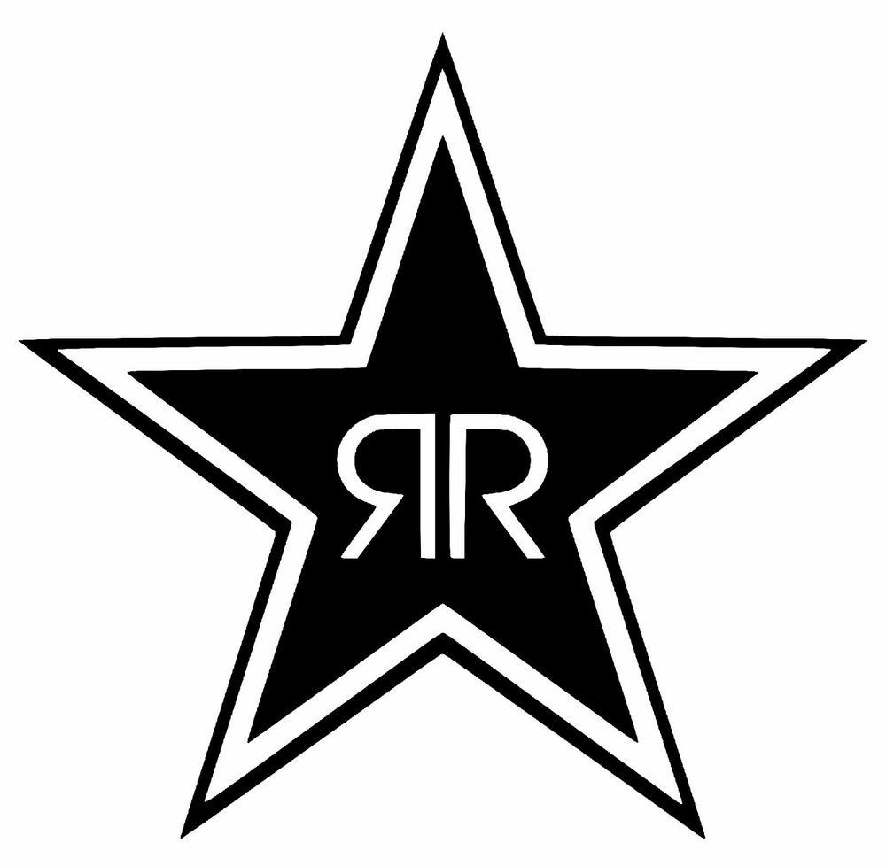 Rockstar Energy Carbon Fiber Vinyl Decal Sticker Energy