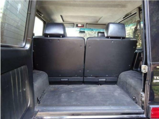 kofferraumwanne antirutsch mercedes g klasse 463 suv 3 1990 kurze version ebay. Black Bedroom Furniture Sets. Home Design Ideas