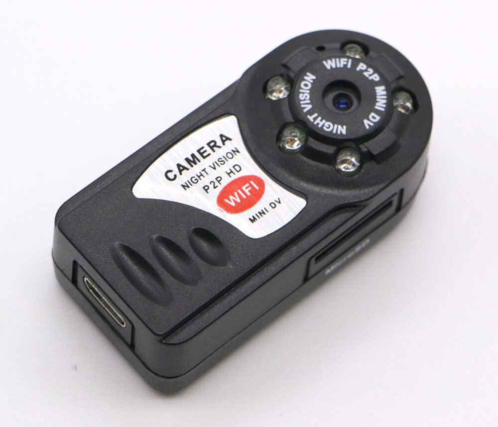 Mini Q7 Wifi P2p Surveillance Spy Remote Camera Dvr Iphone