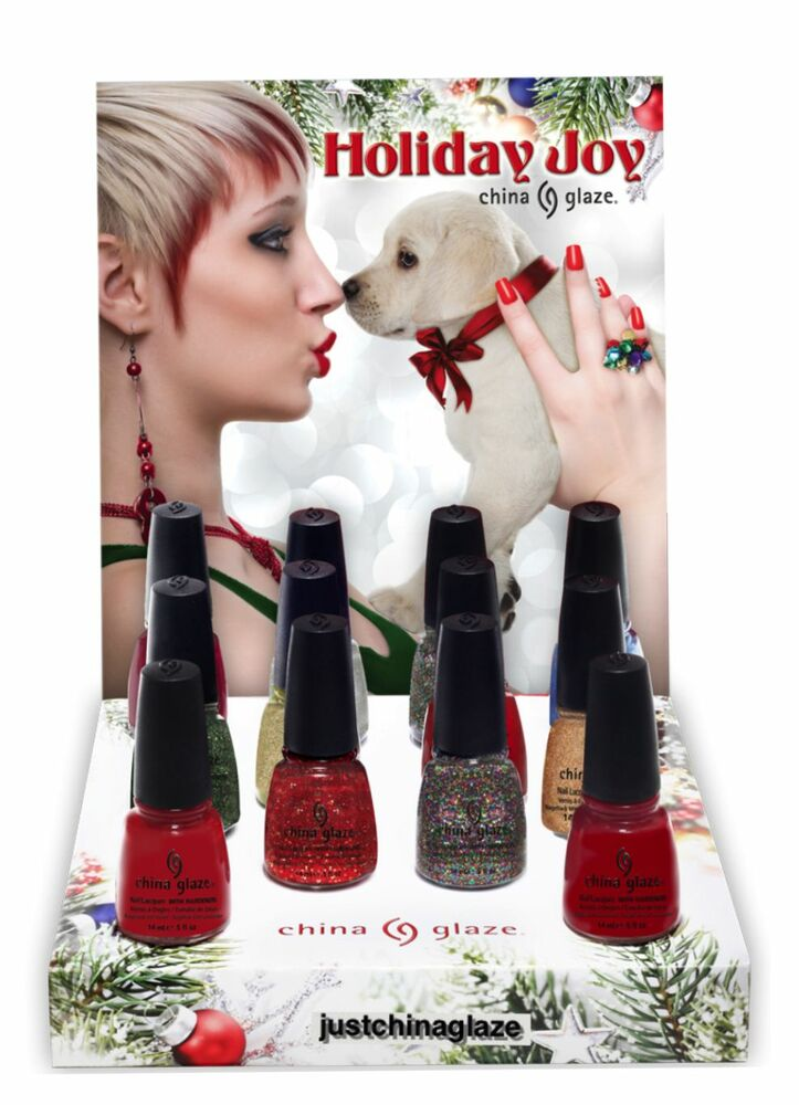 China glaze holiday joy nail