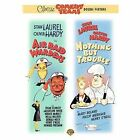 Laurel and Hardy - Air Raid Wardens/Nothing But Trouble (DVD, 2006)