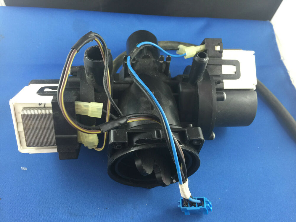Lg Washing Machine Dual Drain Pump Motor 5859er1002m Wd