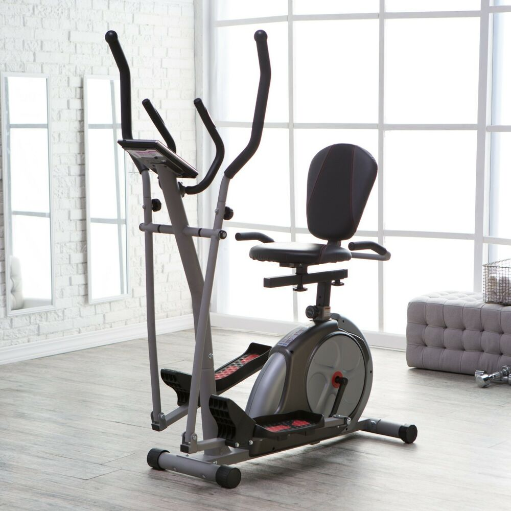 3 In1 Workout Fitness Machine Exercise Equipment Cardio