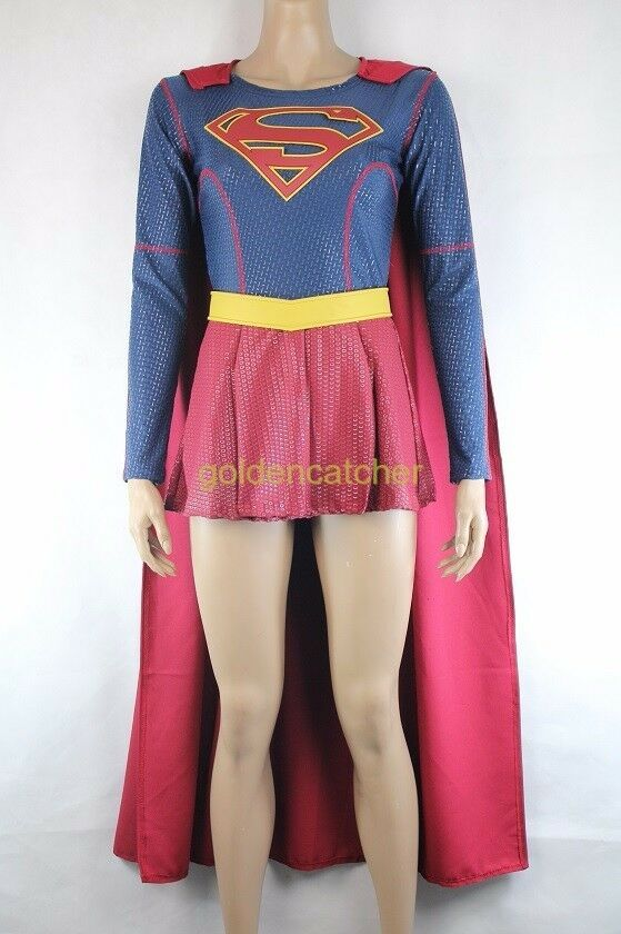 how to make a supergirl costume at home